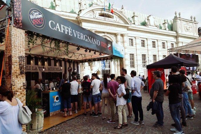 Caffè Vergnano al Turin Coffee 2019