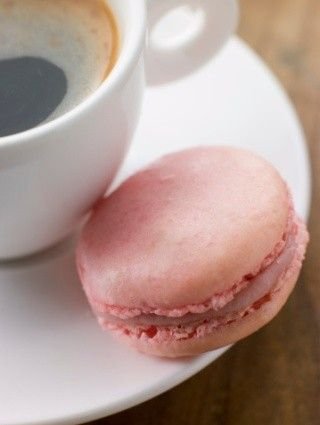 macaron alla rosa