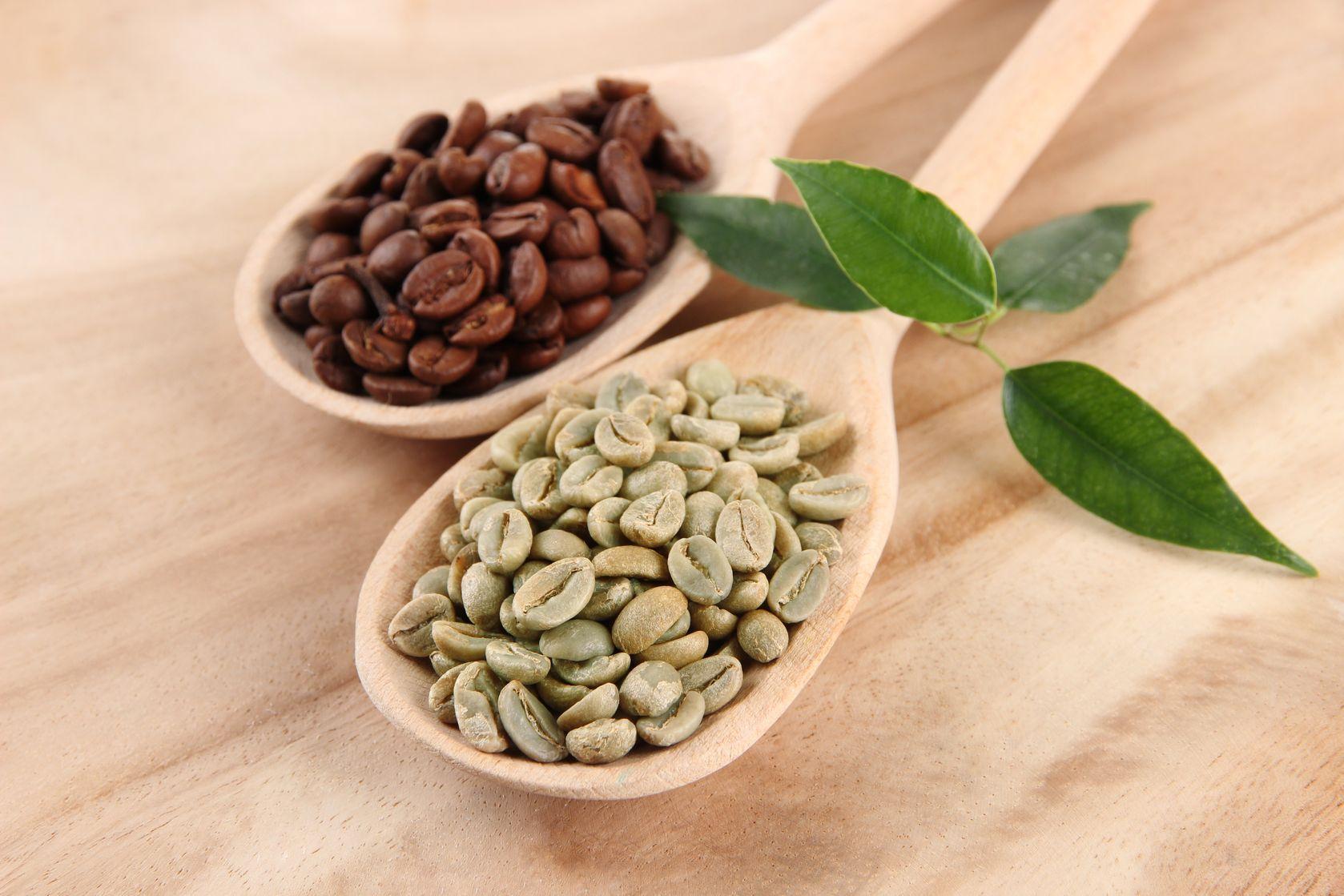 contenuto di caffeina nel caffè verde