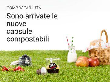 Capsule caffe compostabili compatibili Nespresso